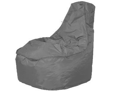 Drop & Sit NOA zitzak stoel | Keuze uit 2 formaten en 18 kleuren Antraciet