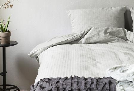 Hotelkwaliteit dekbedovertrekken | Washed linnen look voor een luxe uitstraling Crème