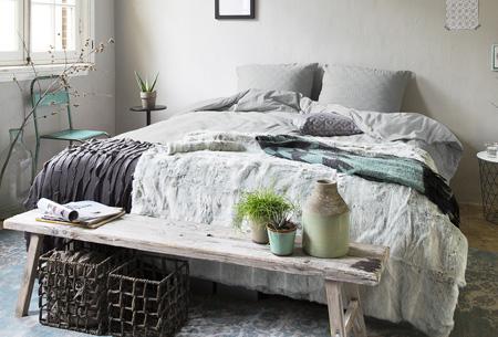 Hotelkwaliteit dekbedovertrekken | Washed linnen look voor een luxe uitstraling