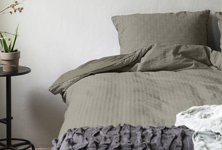 Hotelkwaliteit dekbedovertrekken | Washed linnen look voor een luxe uitstraling Zand