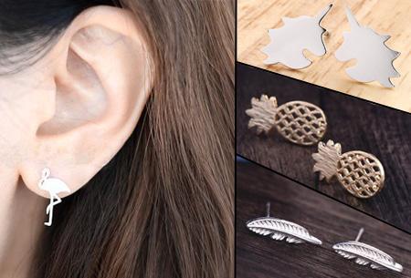 Dagaanbieding: Minimalistische oorbellen