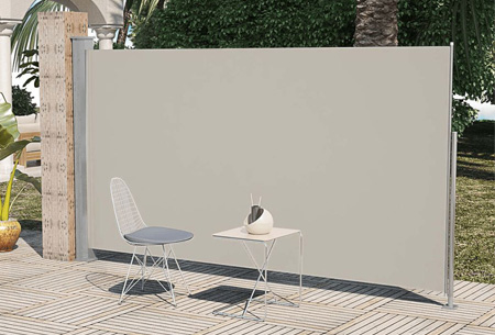 Oprolbaar windscherm 160 of 180 x 300 of 600 cm | Ideaal voor tuin of balkon