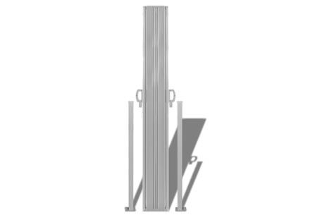Uitschuifbaar wind- en zonnescherm 160 of 180 x 300 of 600 cm   Ideaal voor tuin of balkon