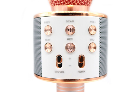 Karaoke microfoon | Draadloos & geschikt voor heel veel zangplezier