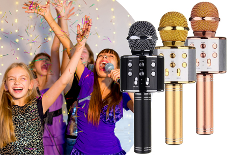 Dagaanbieding: 71% korting – Karaoke microfoon