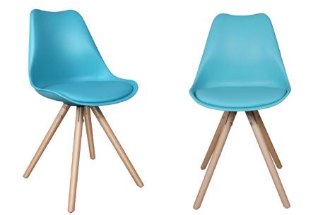 Olan stoelen | Scandinavisch hoogwaardig design in 8 kleuren  turquoise