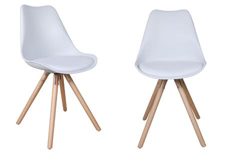 Olan stoelen | Scandinavisch hoogwaardig design in 8 kleuren  wit