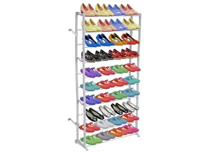 Schoenenrek voor 40 paar schoenen | Al je schoenen netjes opgeruimd