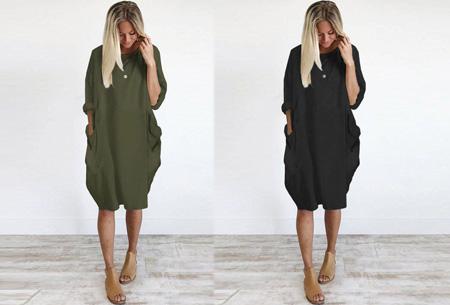 Comfy pocket dress | Stijlvol en heerlijk comfortabel