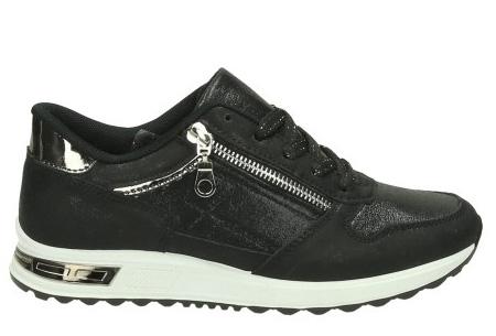 Glam sneakers voor dames | Echte eyecatchers voor een trendy & stoere look! zwart