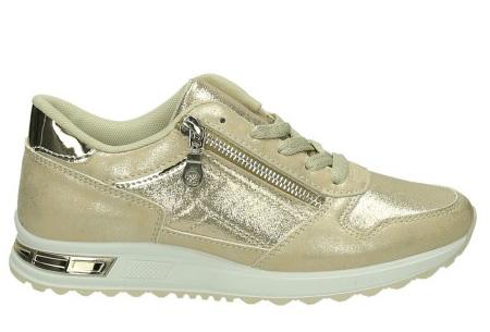 Glam sneakers voor dames | Echte eyecatchers voor een trendy & stoere look! goudkleurig