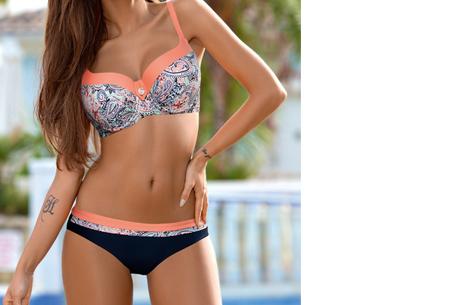 Summer Chique bikini | Verkrijgbaar in 7 verschillende prints #5 Boho Peach