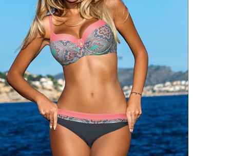 Summer Chique bikini | Verkrijgbaar in 7 verschillende prints #4 Boho Pink