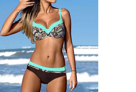 Summer Chique bikini | Verkrijgbaar in 7 verschillende prints #1 Ibiza Blue