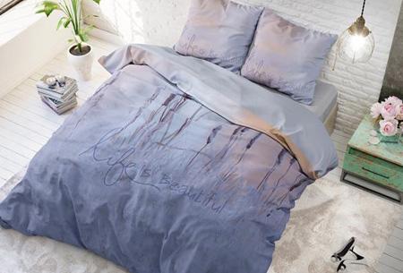 Stijlvolle en comfortabele 100% katoenen dekbedovertrekken | Verkrijgbaar in 9 voorjaarsprints Life is beautiful