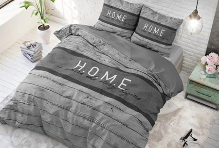 Stijlvolle en comfortabele 100% katoenen dekbedovertrekken | Verkrijgbaar in 9 voorjaarsprints Home - grey