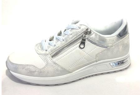Glam sneakers voor dames | Echte eyecatchers voor een trendy & stoere look! Wit