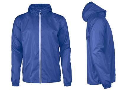Windbreaker jackets | Winddicht en waterafstotende voorjaarsjas voor dames en heren  blauw