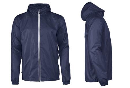 Windbreaker jackets | Winddicht en waterafstotende voorjaarsjas voor dames en heren  donkerblauw