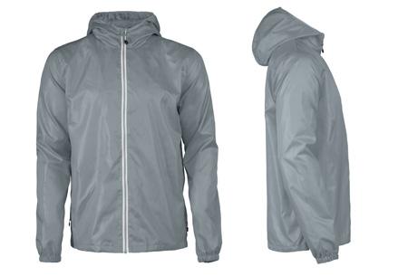 Windbreaker jackets | Winddicht en waterafstotende voorjaarsjas voor dames en heren  grijs