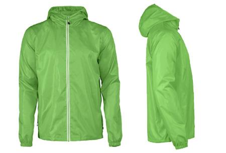 Windbreaker jackets | Winddicht en waterafstotende voorjaarsjas voor dames en heren  groen