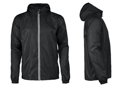 Windbreaker jackets | Winddicht en waterafstotende voorjaarsjas voor dames en heren  zwart