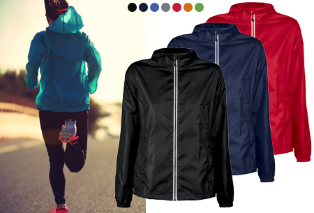 Windbreaker jackets voor dames en heren