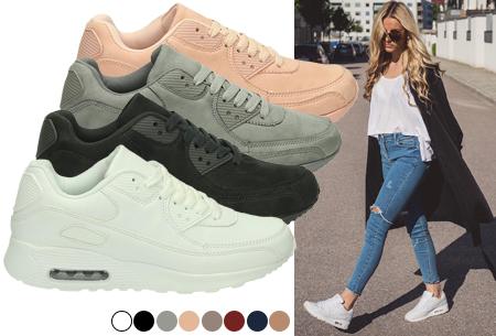 FlexAir sneakers suède look met korting