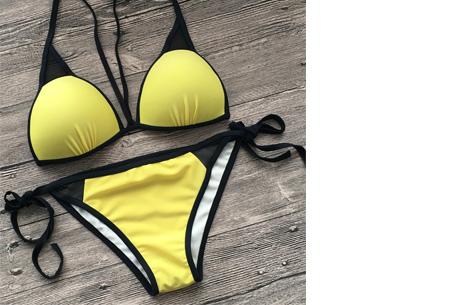 Colorful bikini | Een zomerse eyecatcher verkrijgbaar in 13 kleuren #12 Yellow