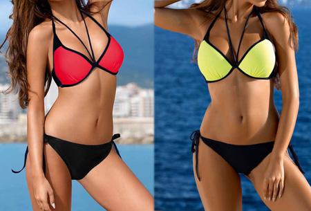 Colorful bikini | Een zomerse eyecatcher verkrijgbaar in 13 kleuren