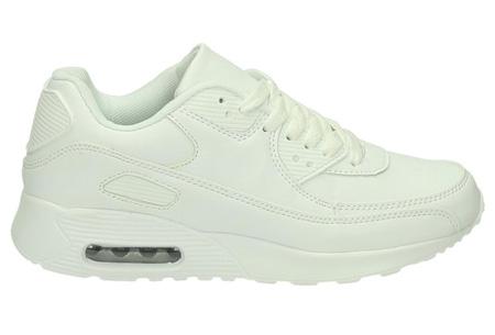 FlexAir suède look sneakers | Met een ultieme demping & optimaal comfort | 36 t/m maat 42 wit