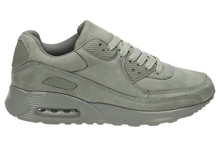 FlexAir suède look sneakers | Met een ultieme demping & optimaal comfort | 36 t/m maat 42 grijs