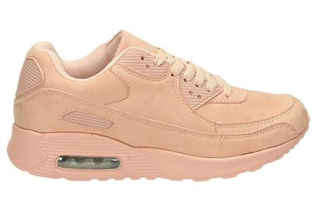 FlexAir suède look sneakers | Hippe dames sneakers met een ultieme demping & optimaal comfort roze