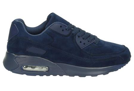 FlexAir suède look sneakers | Hippe dames sneakers met een ultieme demping & optimaal comfort navy
