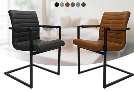 Set van 2, 4 of 6 Bruut stoelen