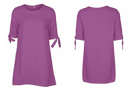 Dress up dames tuniek | Een echte musthave voor dit seizoen!  Paars