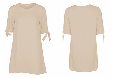 Dress up dames tuniek | Een echte musthave voor dit seizoen!  Khaki