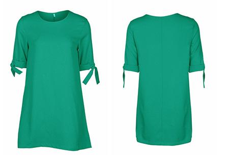 Dress up dames tuniek | Een echte musthave voor dit seizoen!  Groen