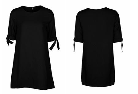 Dress up dames tuniek | Een echte musthave voor dit seizoen!  Zwart
