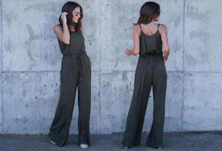 Jumpsuit | De ideale outfit voor dit seizoen Army groen