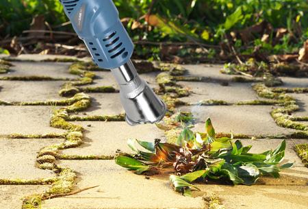 The White Series elektrische onkruidbrander | Milieuvriendelijk & blijvend verlost van onkruid