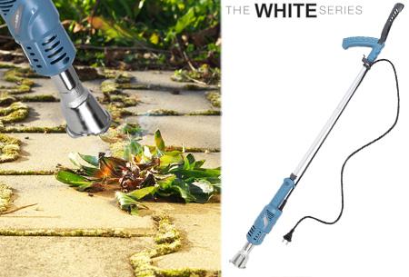 The White Series elektrische onkruidbrander