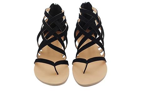 Strap sandalen | Voor de ultieme zomerse look aan je voeten  Zwart