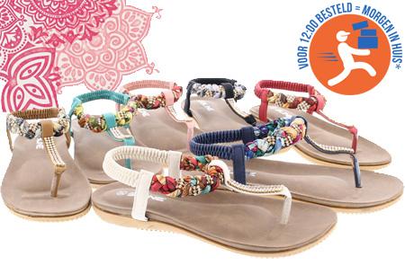 Boho Ibiza slippers