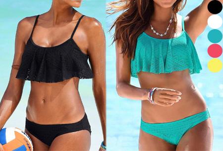 Lovely layer bikini