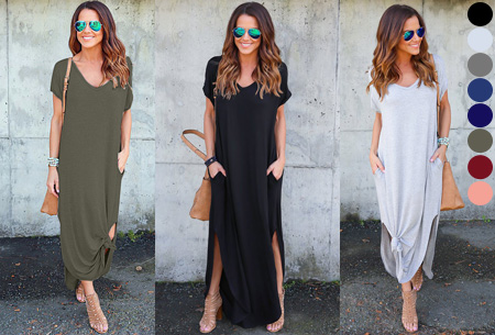 Stylish maxi jurk