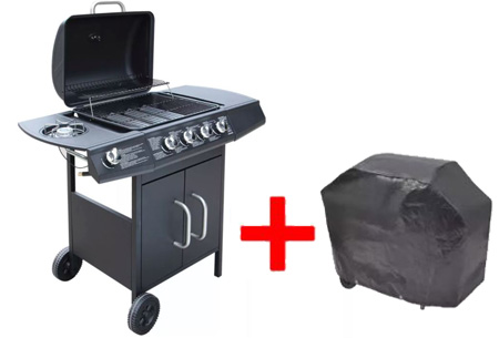 Gasbarbecue Zwart