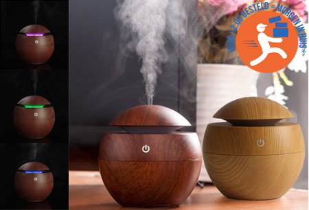 Woodlook aroma geurverspreider, diffuser en luchtbevochtiger