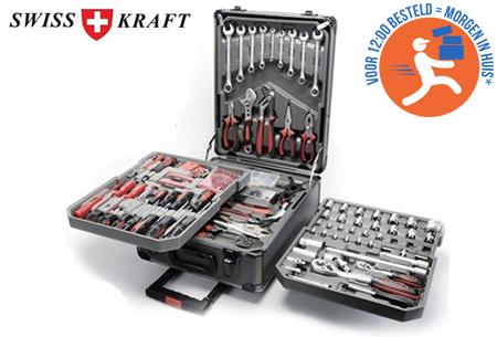 Swiss Kraft 326-delige gereedschapstrolley