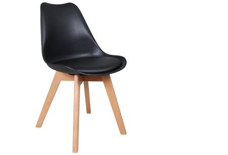 Viktor design Stoelen | Moderne, basic stoelen met ultiem zitcomfort zwart